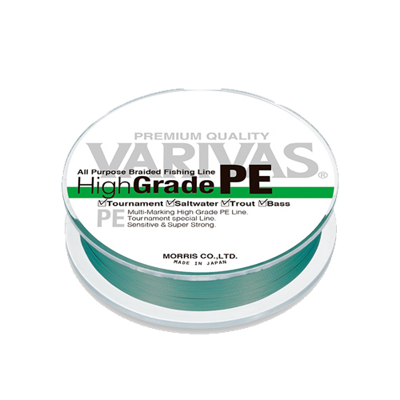 Varivas High Grade PE 150m 0.8 Green